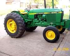 Tractor John Deere 2140 Turbo- Año 1982 - 17000hs