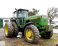 Tractor John Deere 4760 Modelo 1996 Motor Hecho A Nuevo