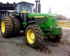 Tractor John Deere 4955, Unico