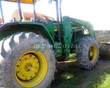 Tractor John Deere 6600, C/ Pala Original