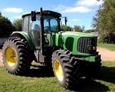 Tractor, John Deere, 7515 Dt Año 2006