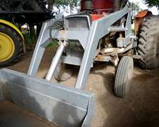 Tractor Massey Fergunson 1185 Con Pala Tedeschi