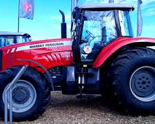 Tractor Massey Ferguson, Modelo Mf 7017/4, Cabina Original.