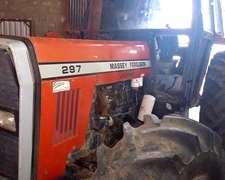 Tractor Mf 297/4, Cabina Soid, Motor Reparado, Mod. 2003