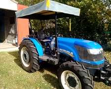 Tractor New Holland 75f Doble Traccion Mod. 2014