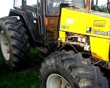 Tractor Valtra-valmet 885s - Modelo 1999 - 2t - U$s 32000