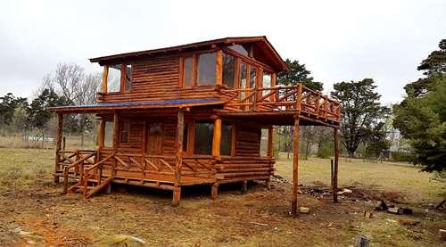 Caba a de troncos en c rdob oferta del mes de mar llave for Oferta cabanas de madera