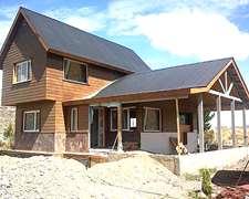 Casas Rurales Rápidas Con Steel Framing. Perfiles De Acero