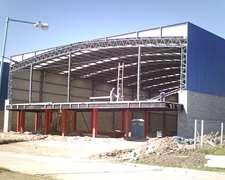 Construimos Galpones Tinglados Y Casas ,
